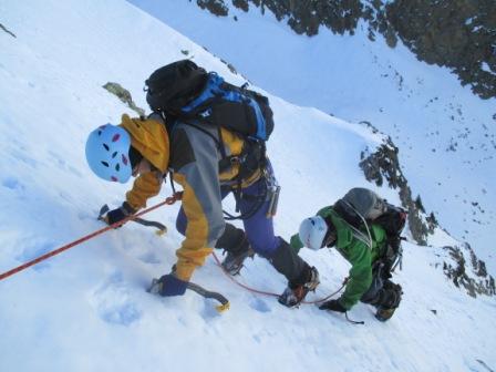 Curso de alpinismo-alpinismo-Pirineos-Bielsa