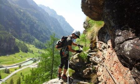 Vias ferratas-Alpes