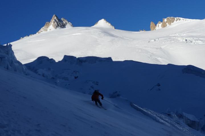 Esqui de montaña Chamonix-Zermatt