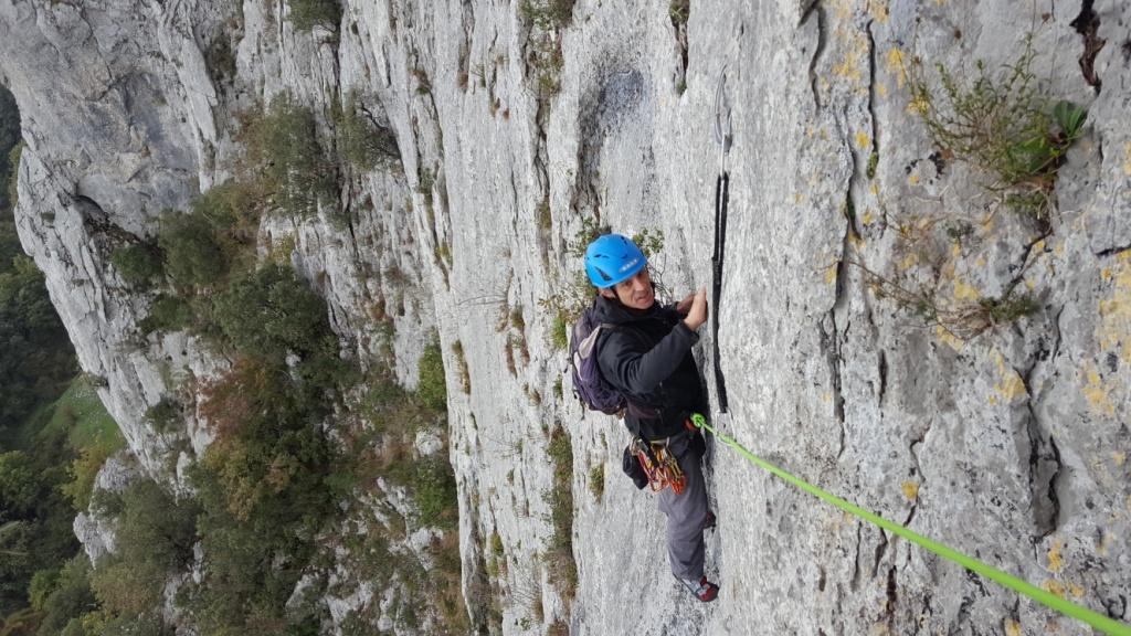 Egino- Lore festa-escalada en roca