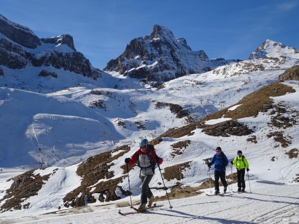 Curso esqui de montaña-Pirineos