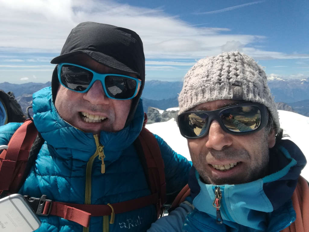 Alpes: Refuge Albert 1º-Breithorn (4165m)-Bettmeralp-Aletschgletscher