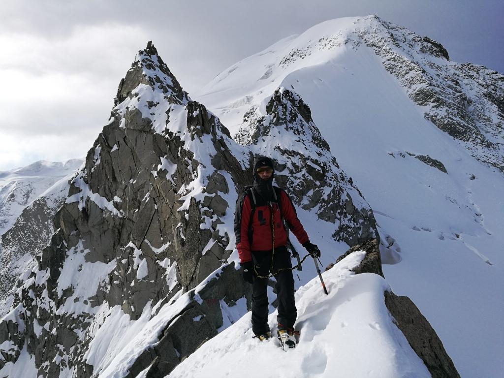 Alpes-Engadin-Pontresina: Boval Hutte-Piz Morterasch