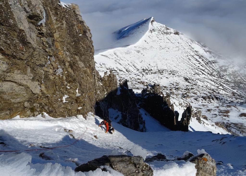 Pirineos:Valle de Belagua. Lakartxela-Corredor Sacro (PD- 55º-400m