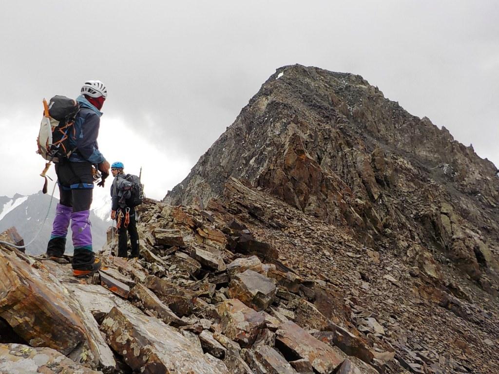 Kyrgyzstan-Terskey Ala Too Range: Lietuvos Alpinistum (4150m)