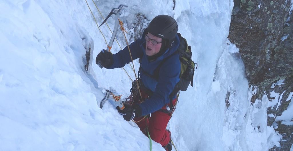 Escalada en hielo-Pirineos: La Dorada-Tunel de Bielsa