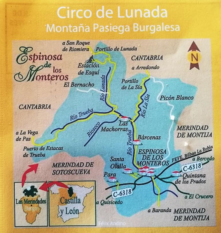 Montaña Pasiega:Lunada-Castro Valnera (1717m)