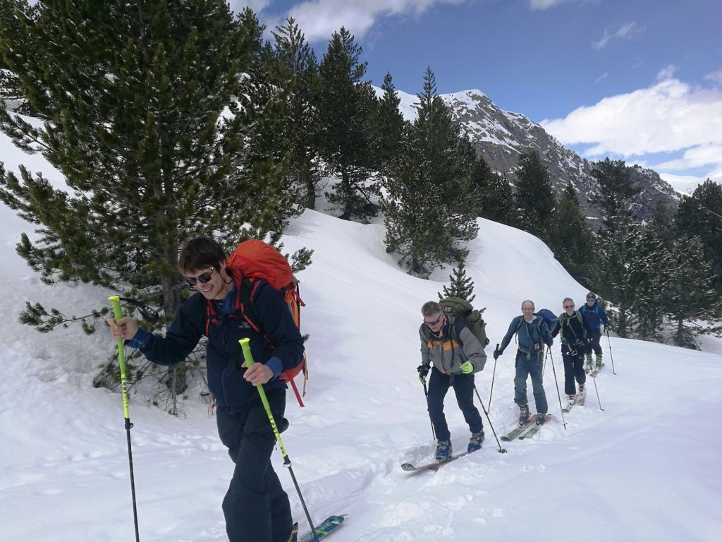 Esqui de travesia en Pirineos: Parque Nacional Aiguestortes y San Maurici