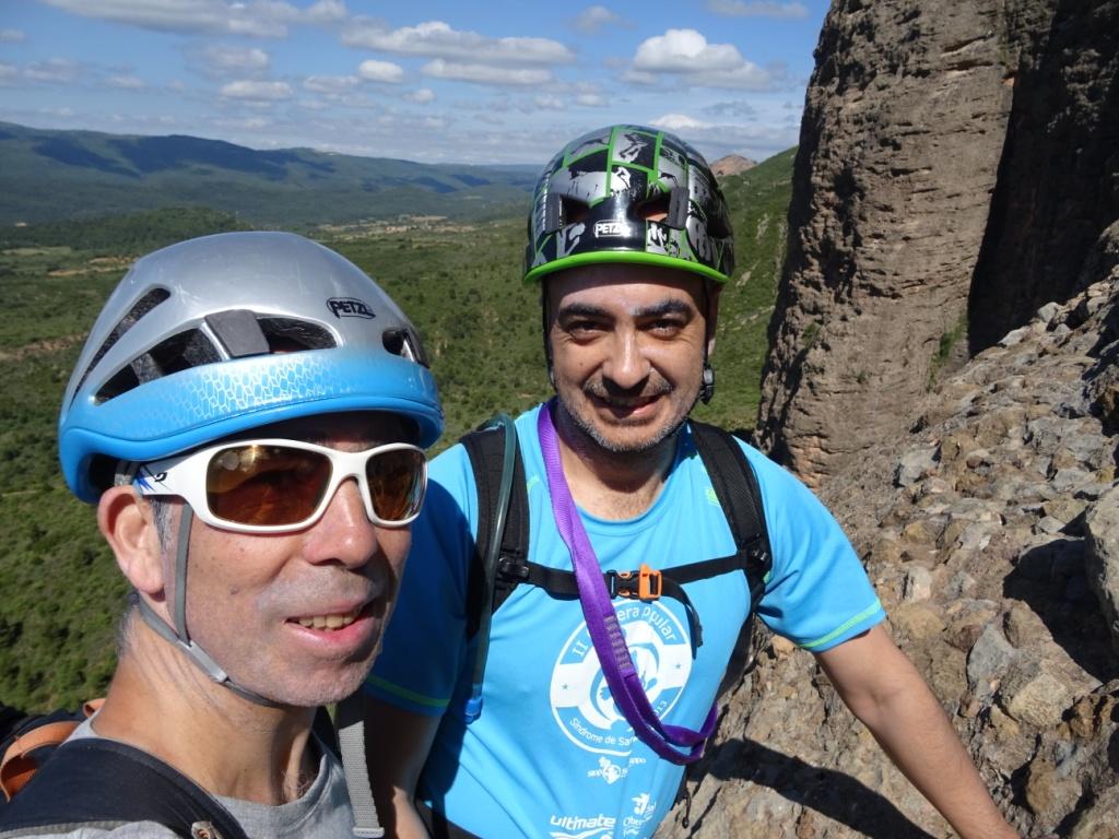 Escalada en roca: Mallos de Riglos-Peña Rueba