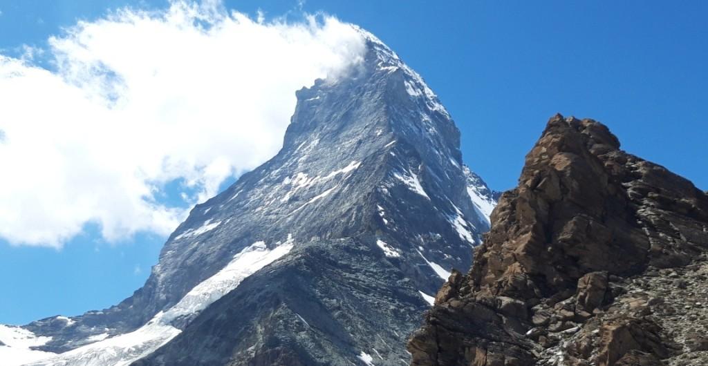 Zermatt-Matterhorn (4478m)-Arista Hornli (Alpes del Valais)