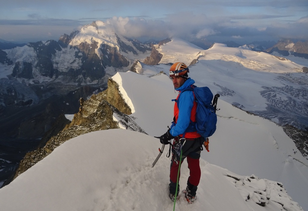 Alpes: Lagginhorn-Via Ferrata Gressoney-Dent Blanche-Lyskamm