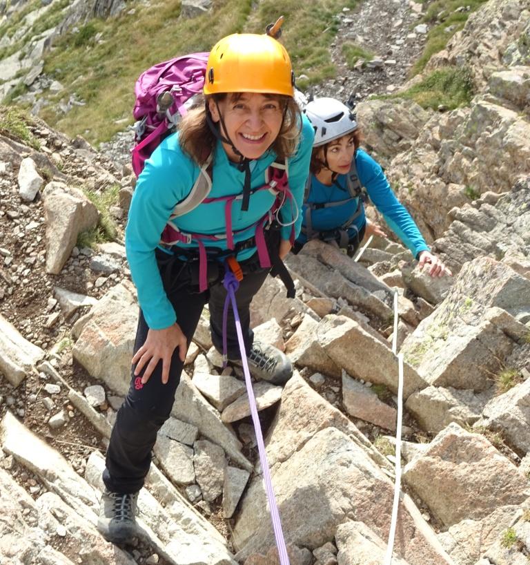 Pirineos: Midi D,Ossau (2884m)-Ruta normal desde Refuge de Pombie
