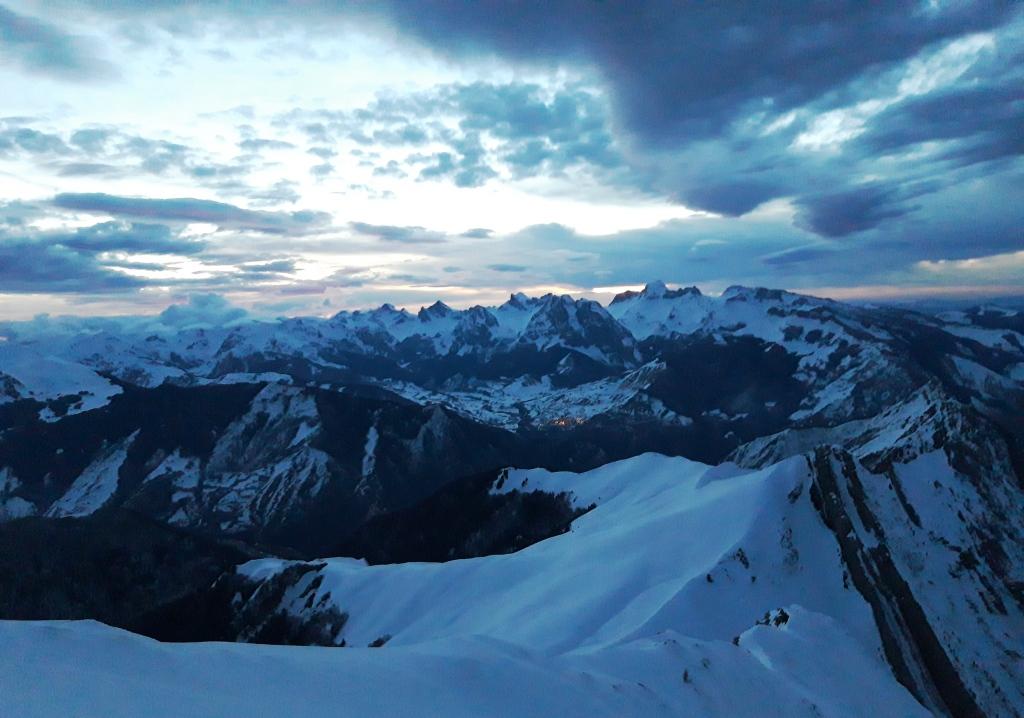 de Aspe: Pico Ronglet / Corredor Noroeste (450m,AD-)