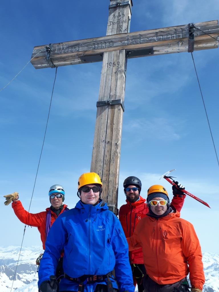 Alpes del Tirol-Voralrberg: Alta ruta Silvretta con esquis