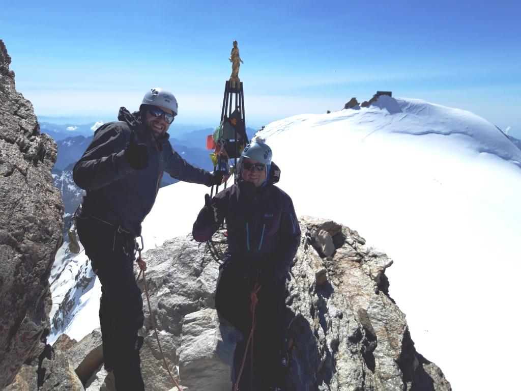 Alpes: Gran Paradiso-Zumsteinspitze-Punta Gnifetti-Piramide Vincent