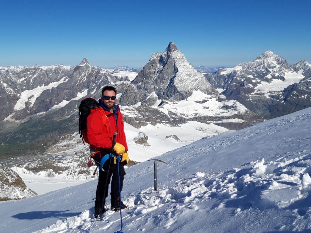Alpes-alpinismo estival: Alta ruta de Zermatt