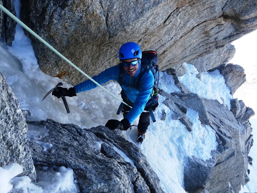 Alpes franceses: Aiguille de Tour-Mont Blanc du Tacul-Mont Blanc