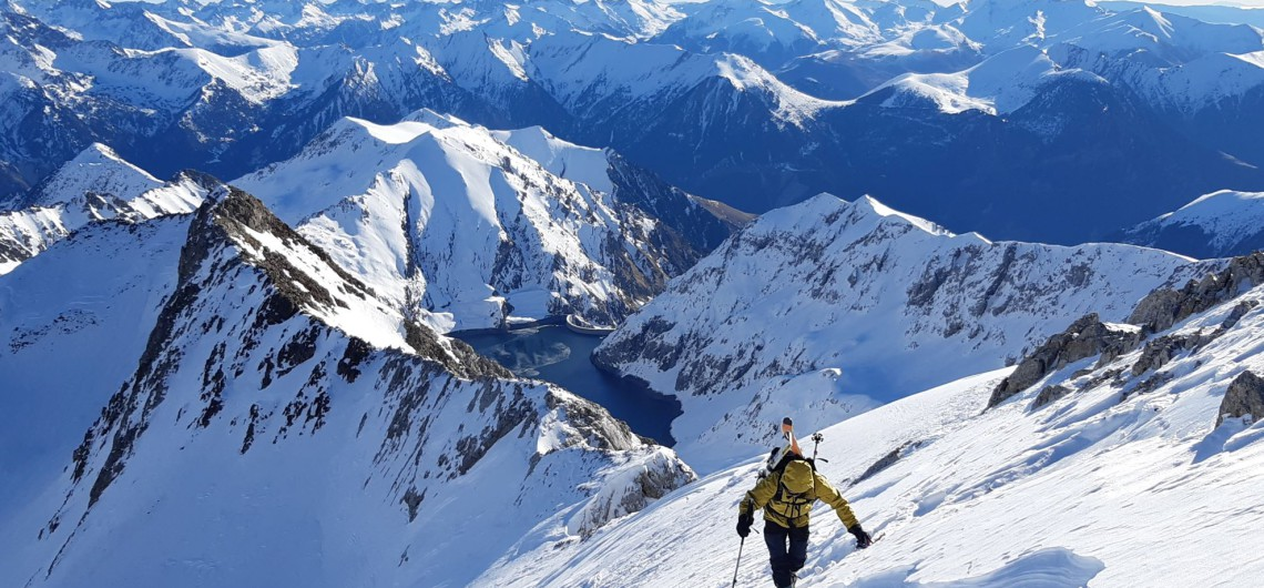 Esqui de travesia: Mulleres-Refugio Cap de Llauset-Tempestades-Vallibierna