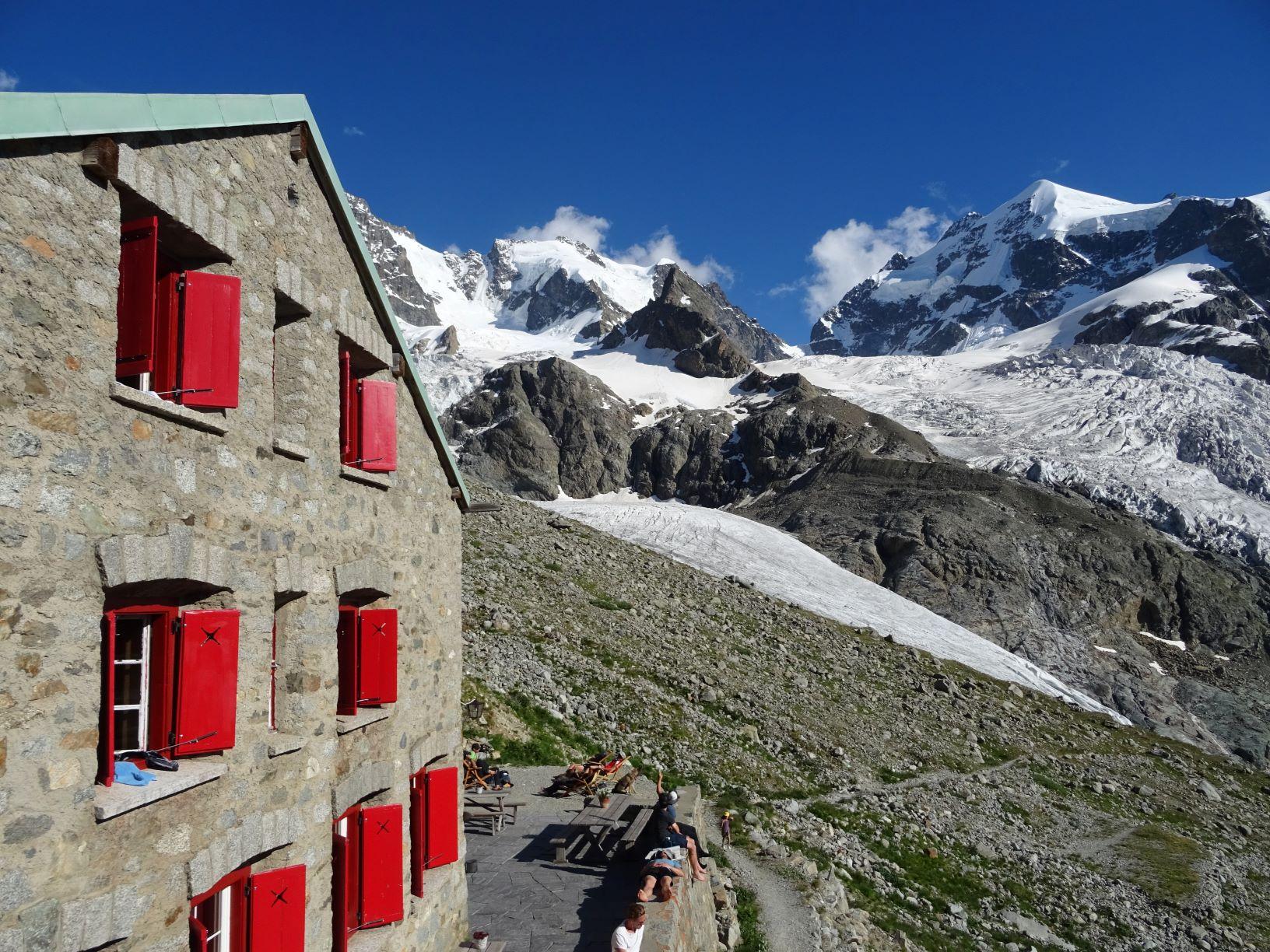 Gross Diamantstock-Monch-Piz Morteratsch-Piz Bernina
