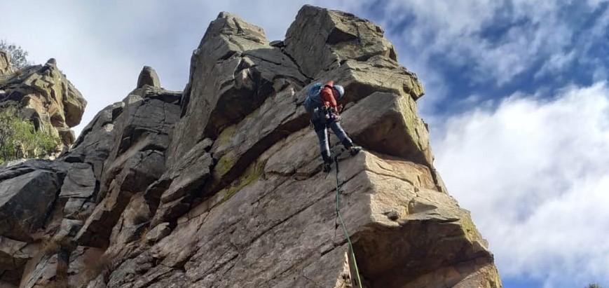 Curso de escalada en crestas: Morata de Jalon-Cresta de Embid