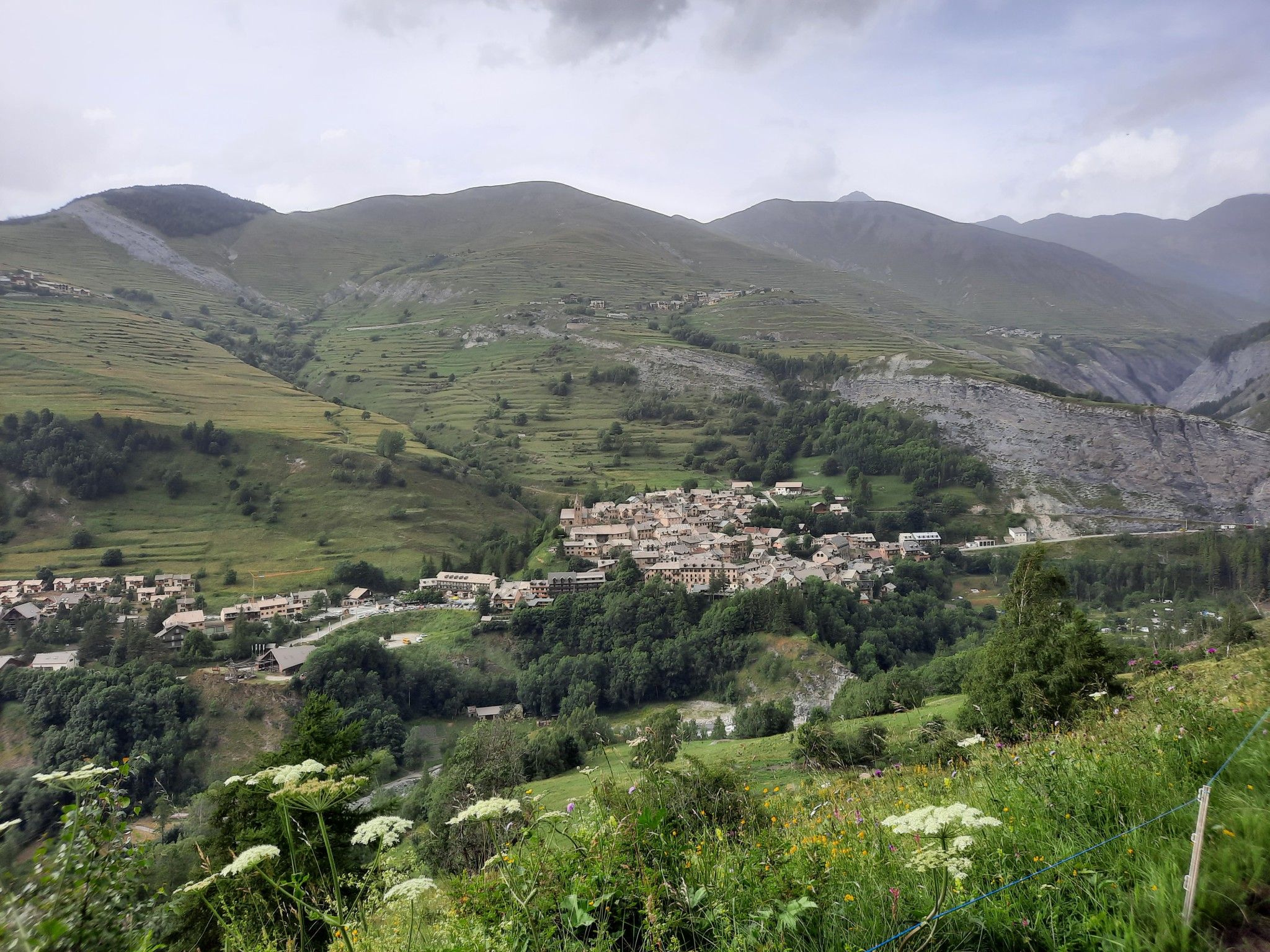 Alpes,Parque Nacional de Ecrins:Pelvoux-Ponte Trifide-Rateau E