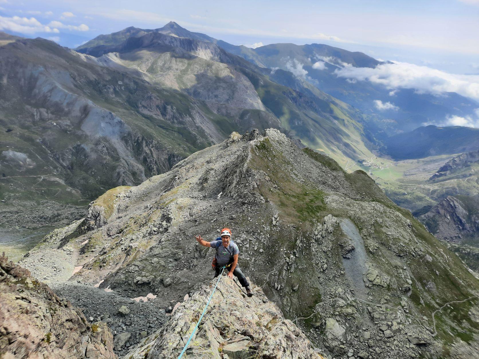 Alpes Cocios (Italia-Piamonte):Monviso+Punta Udine